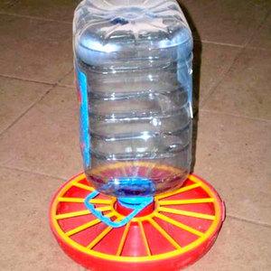 Поилка из бутылки, пластика