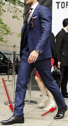 Европейская длина брюк