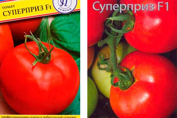 разные семена томата суперприз